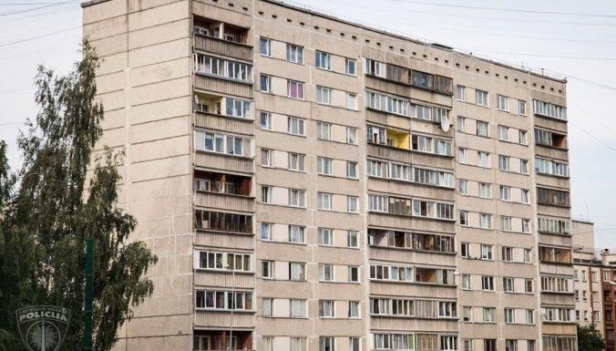 В Риге после убийства пенсионерки грабитель спрыгнул с пятого этажа