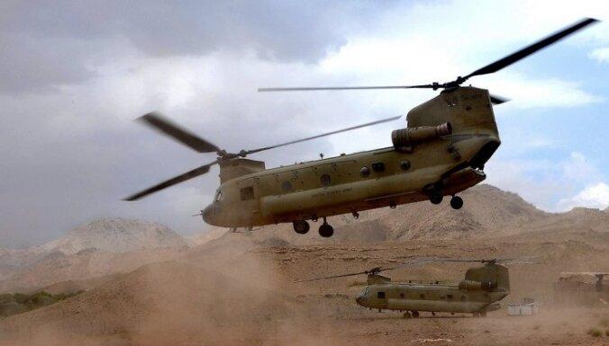В Афганистане разбился вертолет НАТО: есть погибшие