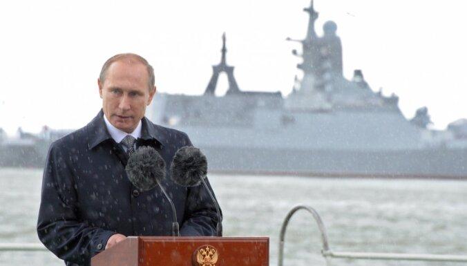 Путин утвердил новую Морскую доктрину России