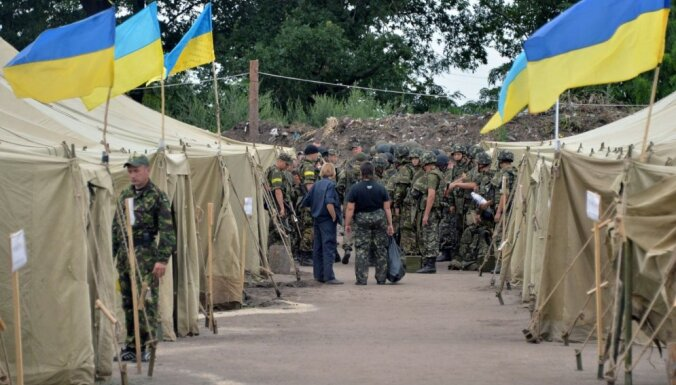 Bojāgājušo karavīru skaits Ukrainā sasniedzis 258