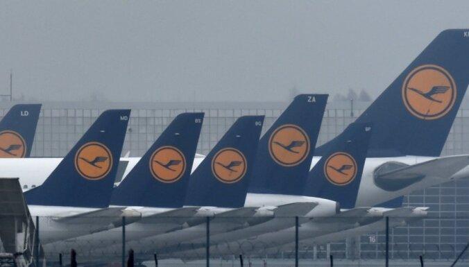 'Lufthansa' pilotu streiks pagarināts līdz sestdienai