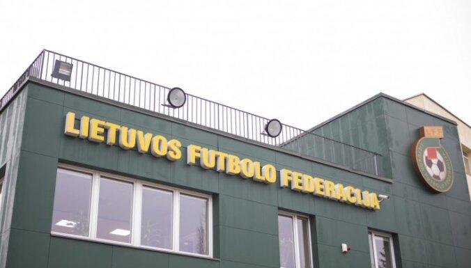 Lietuvas Finanšu noziegumu izmeklēšanas dienests veic kratīšanu Futbola federācijā