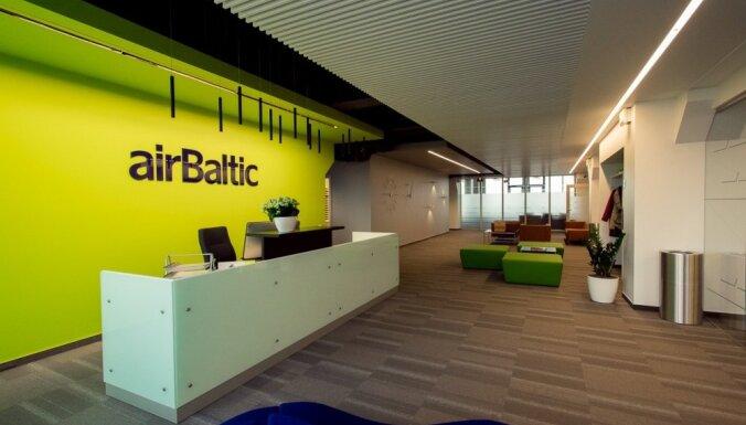 'Colliers': lielākais biroju nomas darījums pērn – 'airBaltic' centrālais birojs