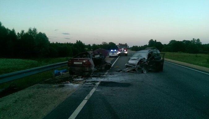 Avārijā uz autoceļa Tīnūži – Koknese divi bojāgājušie