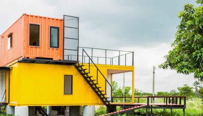 Izturīgas, kompaktas un oriģinālas – konteineru mājas un to būvniecība