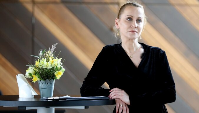 LTV: Aktrises publiskie izteikumi mudina domāt par krīzi Dailes teātrī