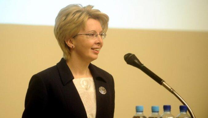 Saeimas priekšsēdētāja: jautājumā par Latvijas brīvību kompromisu nav