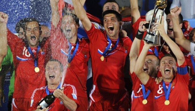 Россия — обладатель Межконтинентального кубка по пляжному футболу