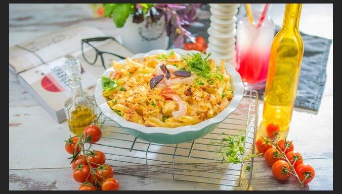 Королевский рецепт: запеканка из сыра с креветками