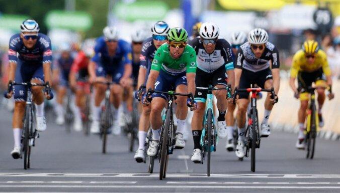 Polits uzvar 'Tour de France' 12. posmā; Skujiņam 63. vieta