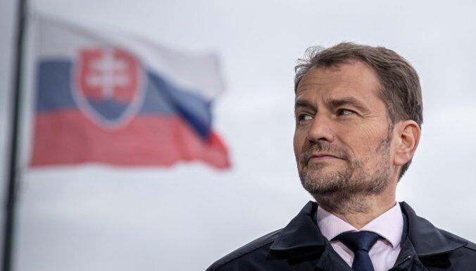 Slovākijas parlamenta vēlēšanās uzvarējusi opozīcija