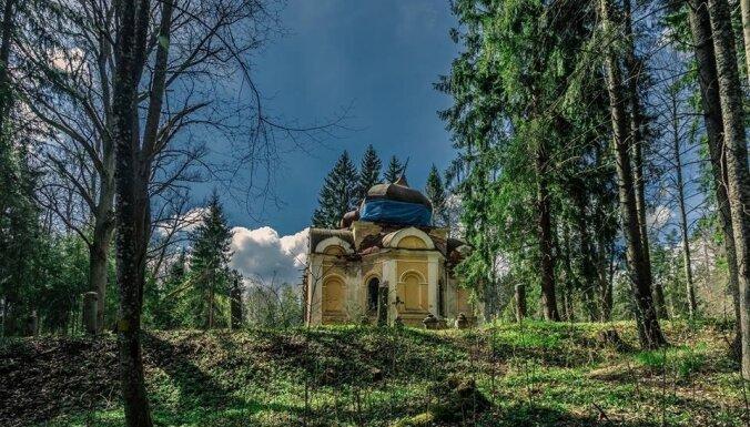 Foto: Pamestā Galgauskas baznīca, kas vilina ziņkārīgos