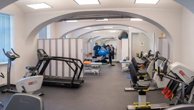 Foto: Par 3 miljoniem eiro atjauno Rīgas 1. slimnīcas Rehabilitācijas klīniku
