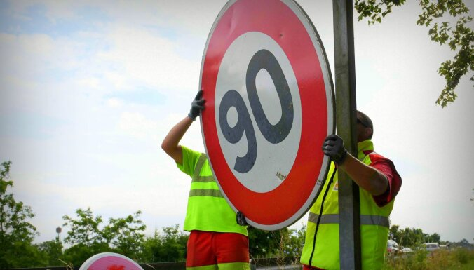 Visā Latvijā maksimālo braukšanas ātrumu nosaka 90km/h