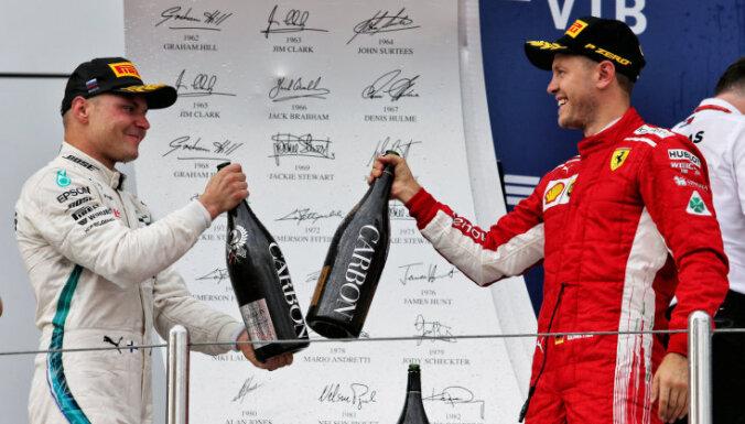 Fetels: 'Mercedes' pavēle Botasam palaist garām Hamiltonu bija pamatota