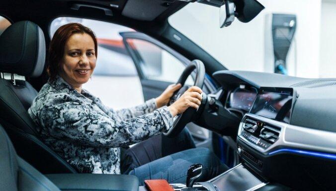 Foto: Latvijā prezentēts jaunais BMW 3. sērijas sedans