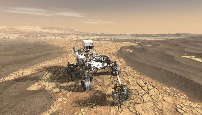 Марсоход NASA впервые в истории смог получить кислород из атмосферы Марса