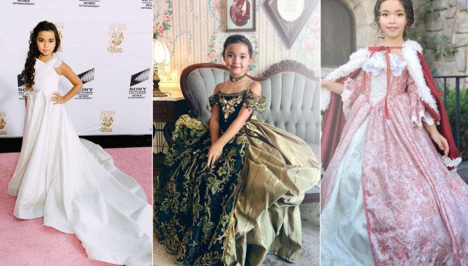 Sapņu piepildījums: kā trīs bērnu tēvs darina 'Disney' princešu kleitas
