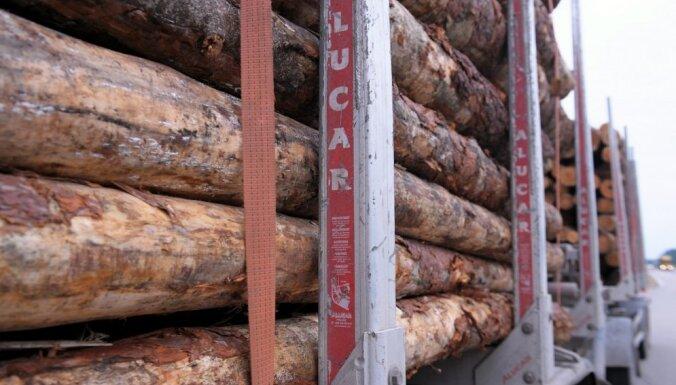 Meža produkcijas eksports pērn sarucis par 2,1%