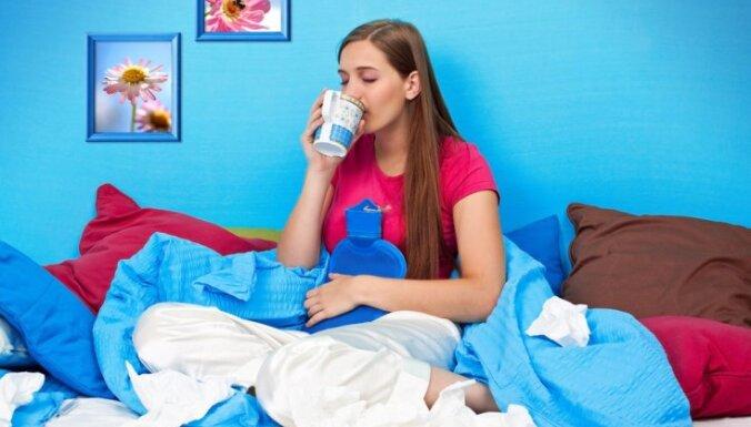 Kā atšķirt gripu no saaukstēšanās?