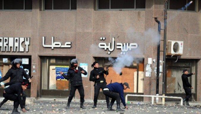 Ēģiptē streiko policisti