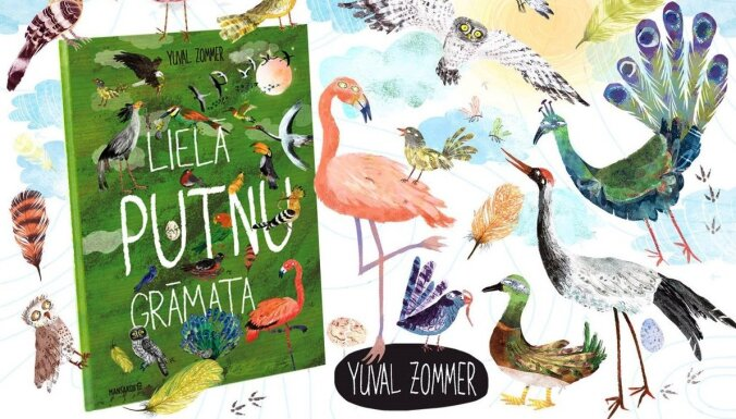 Klajā nākusi 'Lielā putnu grāmata'