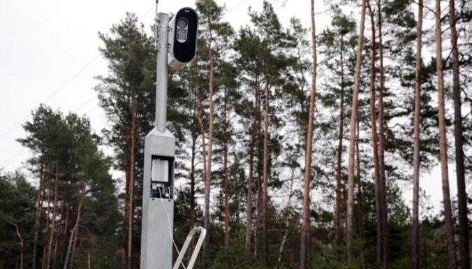 Стационарные фоторадары установят еще в 20 местах Латвии