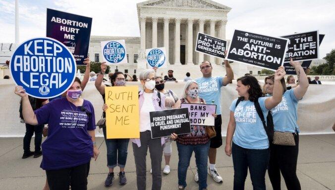 Суд в США приостановил действие закона об ограничении абортов в Техасе