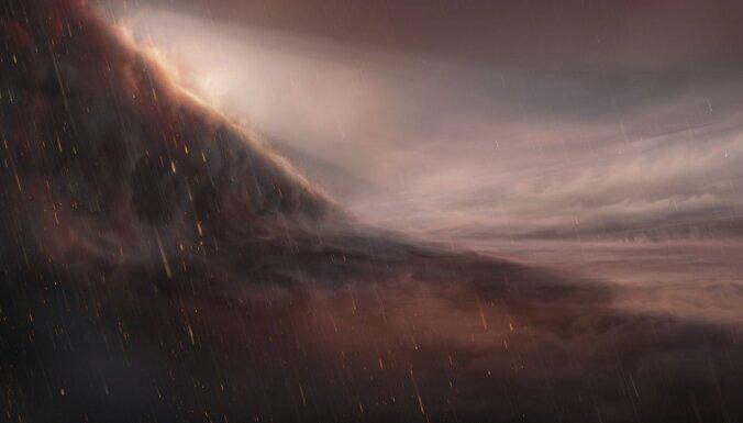 Draņķīgākā laika prognoze galaktikā? Planēta, kur līst dzelzs lietus