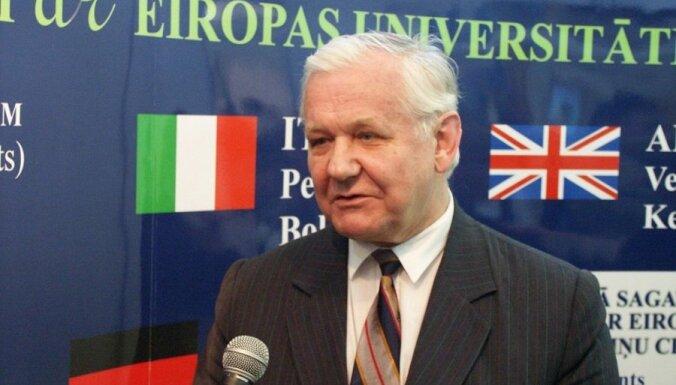 Умер бывший многолетний ректор ЛУ Юрис Закис