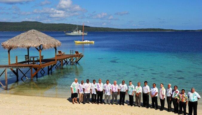 Pasakainajā Palau Republikā dzeramais ūdens draud beigties mēneša laikā