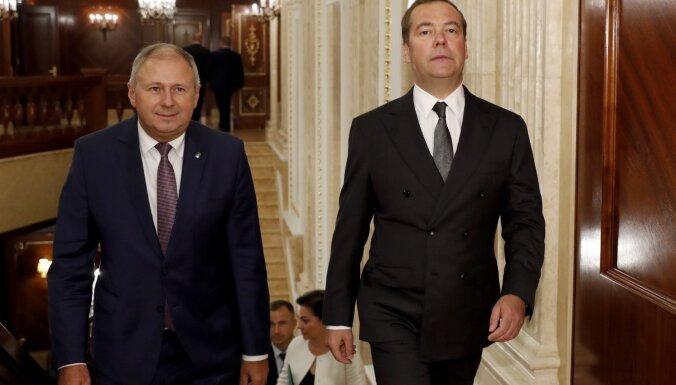 Minskā noticis protests pret integrāciju ar Krieviju