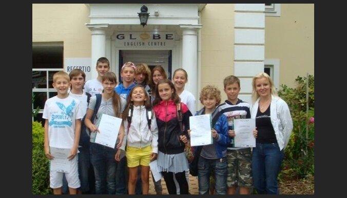 Angļu valoda Anglijā skolēniem no 7-10, 11-13, 14-17 gadiem. Trīs nedēļas no 16.jūnija