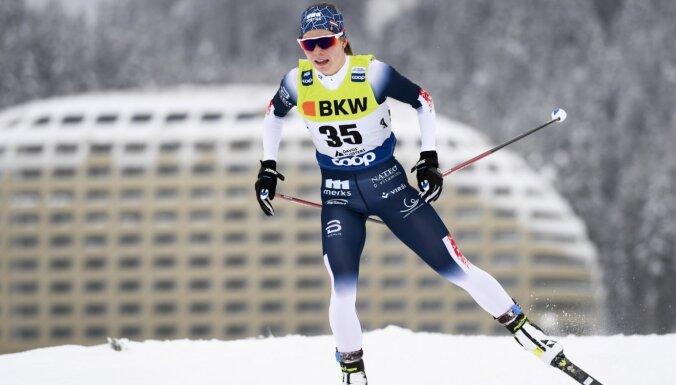 Eiduka stāsta par savas karjeras labākajām sacensībām 'Tour de Ski'