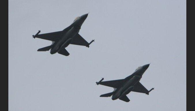 NATO iznīcinātāji Baltijas valstīs pērn identificējuši 110 Krievijas lidmašīnas