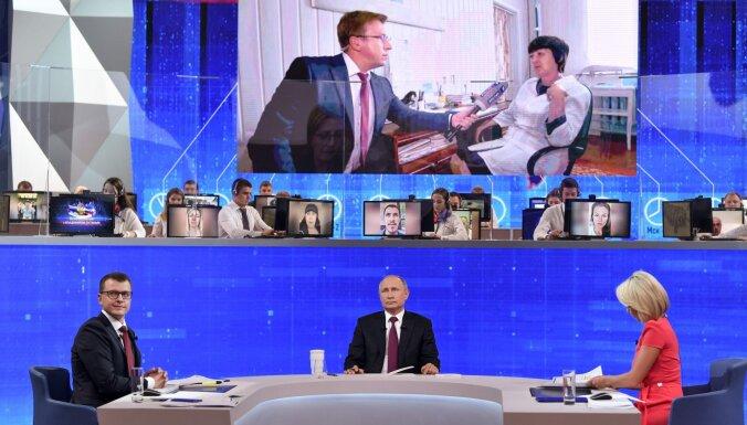 """Зеленский, санкции, Донбасс. Путин провел традиционную """"прямую линию"""" с россиянами"""