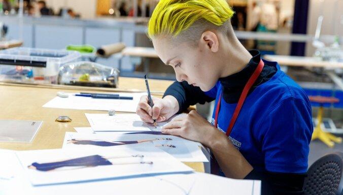 Jaunieši demonstrē prasmes jauno profesionāļu meistarības konkursā