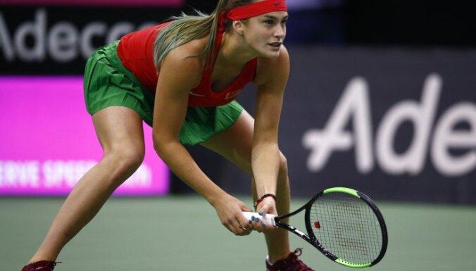 Новая Вика Азаренко: 10 фотографий эффектной белорусской теннисистки