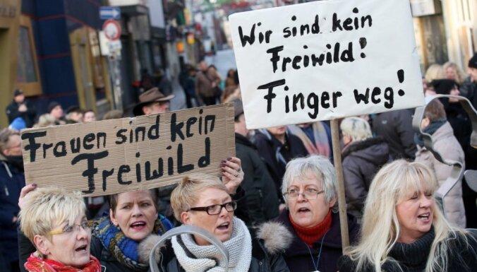Vācijas pilsētā Hamburgā Vecgada vakarā notikuši 133 uzbrukumi sievietēm