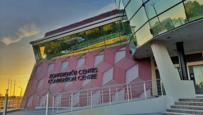Foto: Ekspluatācijā nodots Baltijā lielākais konferenču centrs