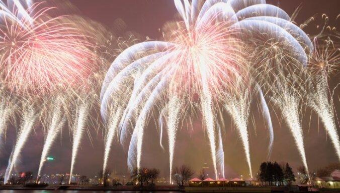 Рижан и гостей города приглашают встретить Новый год на набережной Даугавы