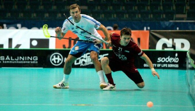 Чемпионат мира по флорболу: Латвия забила гол престижа финнам