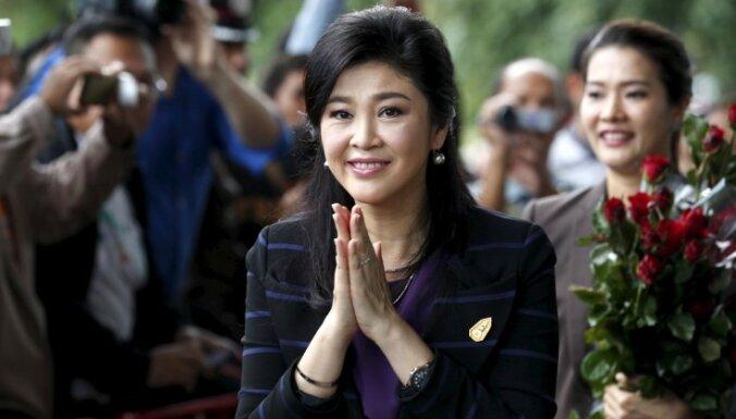 Taizemē sākas prāva pret gāzto premjerministri Jingluku Šinavatru