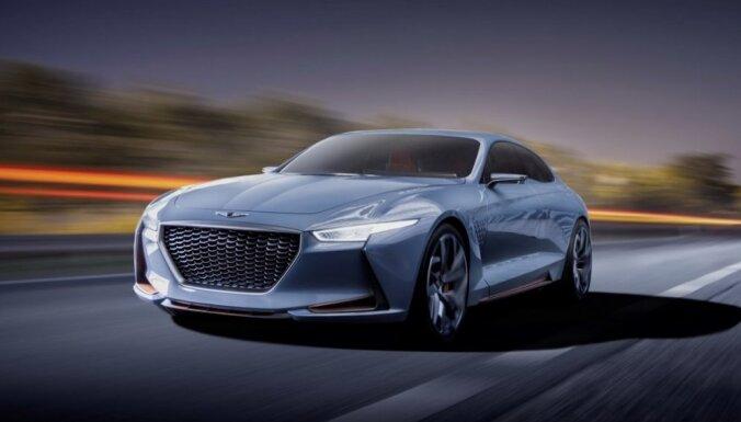'Hyundai' ar 'Genesis' marku demonstrē iespējamo BMW 3. sērijas konkurentu