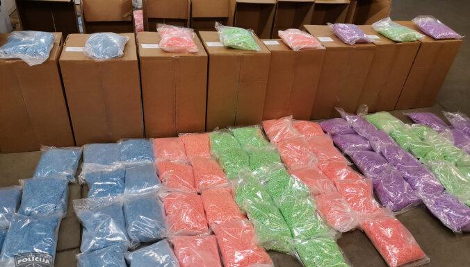 Под Даугавпилсом в ходе международной операции изъяли 320 кг наркотиков