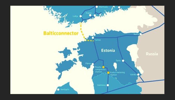 Финско-эстонский газопровод Balticconnector заполнили газом