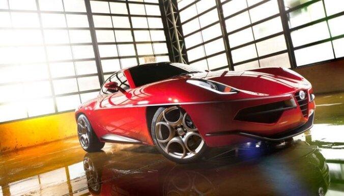 'Lidojošais šķīvitis' uz 'Alfa Romeo 8C' bāzes