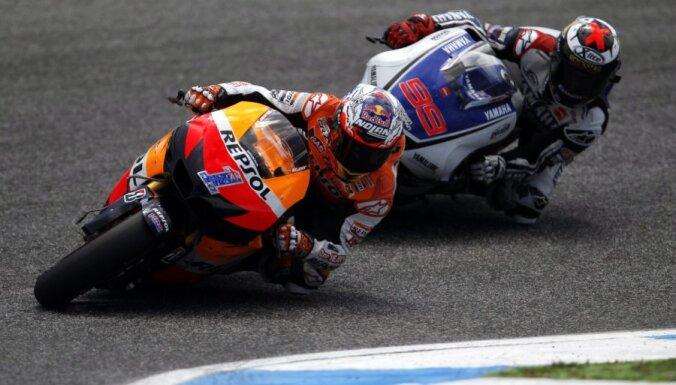 Stouners uzvar Portugāles 'Grand Prix' motošosejā