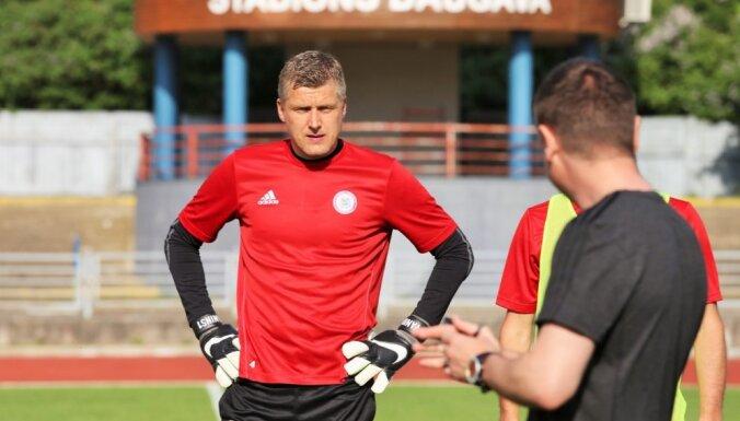 Вратари сборной Латвии провели сухие матчи