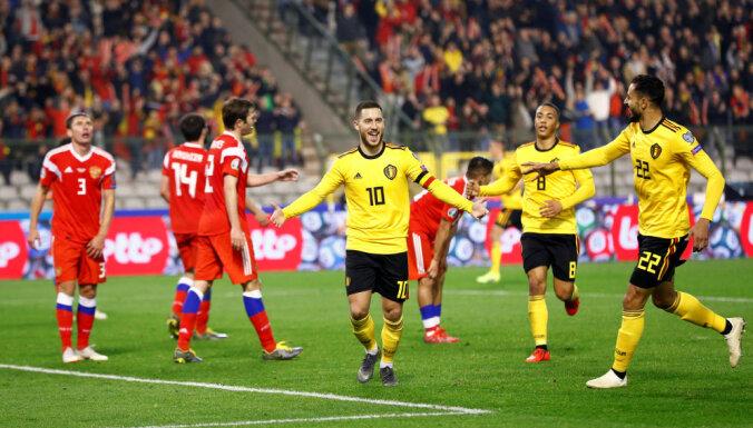 Сборная России проиграла Бельгии на старте отборочного турнира ЕВРО-2020